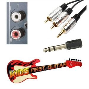 playing electric guitar without an amp kids first guitar. Black Bedroom Furniture Sets. Home Design Ideas